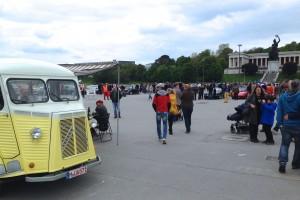 Die Theresienwiese in München ist zur Wies'n das Sehnsuchtsziel viele Menschen.