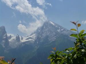 Der Watzmann bei Berchtesgaden.