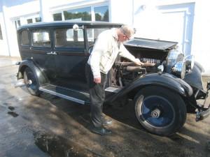 Packard - perfekt bis zur letzten Schraube.