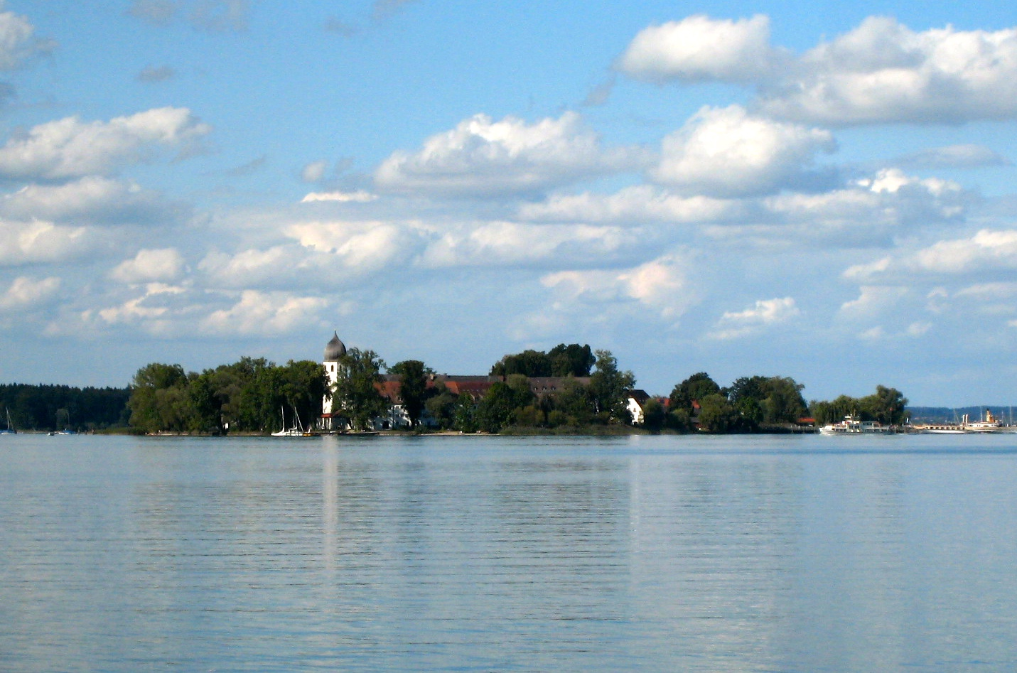 Chiemsee, die Fraueninsel