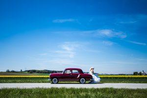 Rot wie die Liebe, zuverlässig und treu: Der Mercedes-Benz 180b, Baujahr 1961
